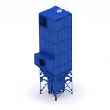 Рукавные фильтры с вибровстряхиванием ФР