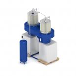 Аппараты для улавливания пыли и стружки с продувкой сжатым воздухом