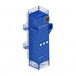 Рукавные фильтры ФРИ (с импульсной продувкой для центральных систем аспирации)